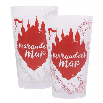 Harry Potter - Marauders Map Glass