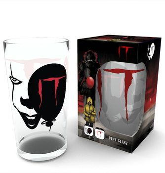 IT - Pennywise Face Glass
