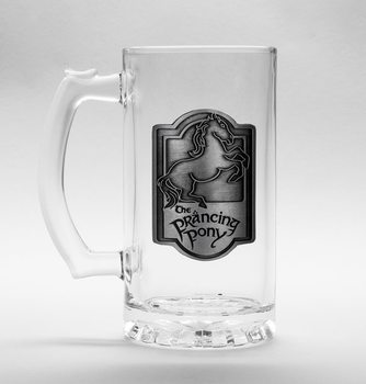 Lord Of The Rings - Prancing Pony Glass