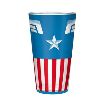 Marvel - Captain America Glass