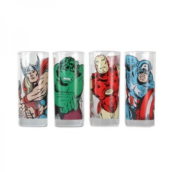 Marvel - Characters Glass