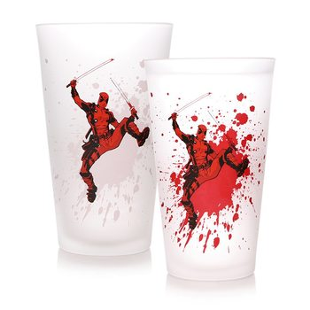 Glass Marvel - Deadpool