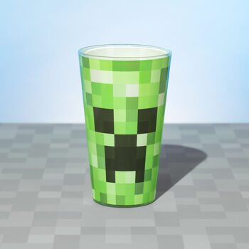 Glass Minecraft - Creeper