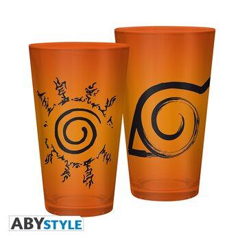 Naruto Shippuden - Konoha & Sceau Glass