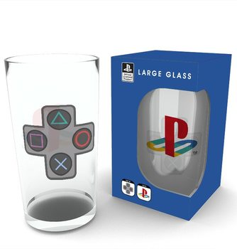 Playstation - Buttons Glass