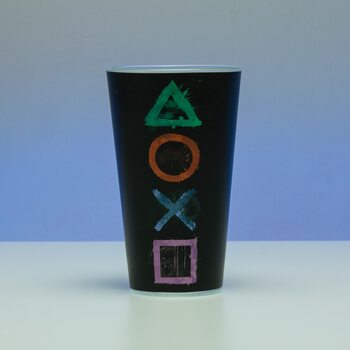 Playstation - Logo Glass