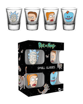 Rick and Morty - Faces Glass