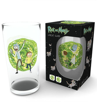 Rick and Morty - Portal Glass