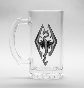 Skyrim Dragon - Symbol Glass