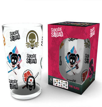 Suicide Squad - Faces Glass
