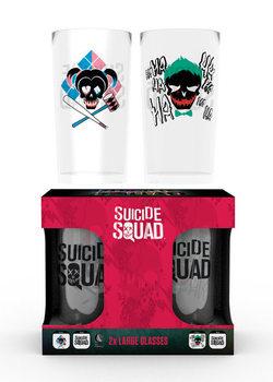 Suicide Squad - Joker & Harley Glass