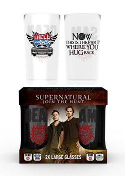Supernatural - Dean and Sam Glass