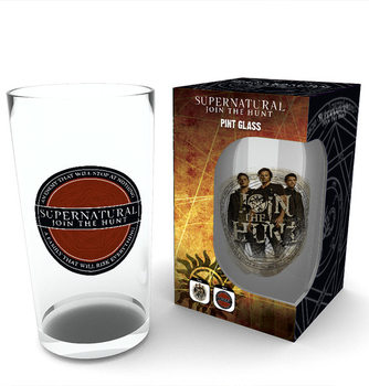 Supernatural - Logo Glass