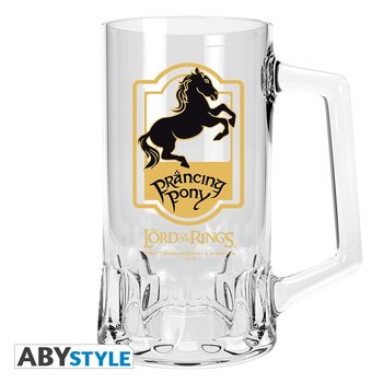 The Lord Of The Rings - Prancing Pony Glass
