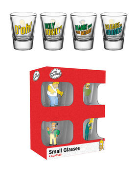 The Simpsons - Quotes Glass
