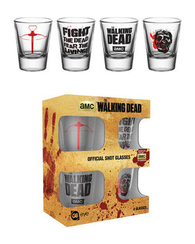 The Walking Dead - Symbols Glass