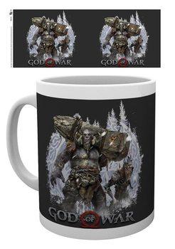 Mug God Of War - Troll and Draugr