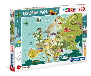 Puzzle Great Places in Europe