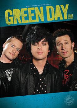 Calendar 2021 Green Day