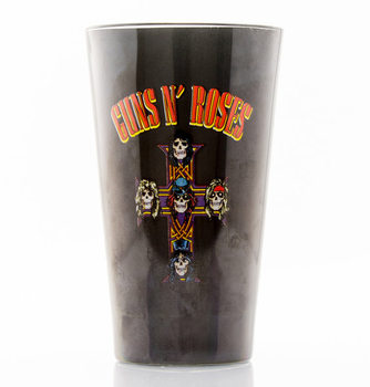 Glass Guns N Roses - Logo