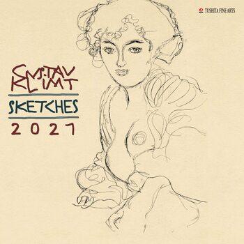 Calendar 2021 Gustav Klimt - Sketches