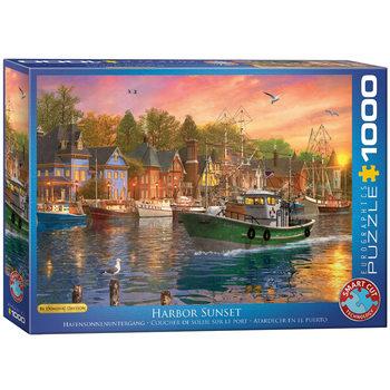 Puzzle Harbor Sunset