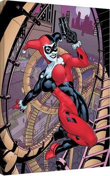 Harley Quinn - Rollercoaster Canvas Print