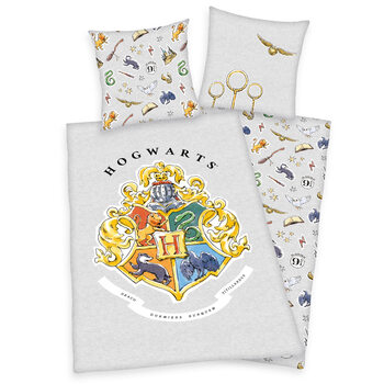 Bed sheets Harry Potter - Grey