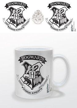 Cup Harry Potter - Hogwarts Crest Black
