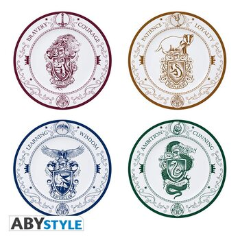Dishes Harry Potter - Hogwarts Houses