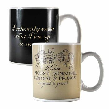Caneca Harry Potter - Marauder's Map