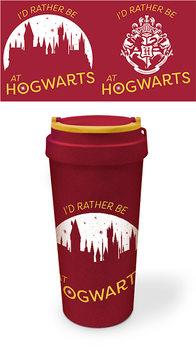 Travel Mug Harry Potter - Rather be at Hogwarts