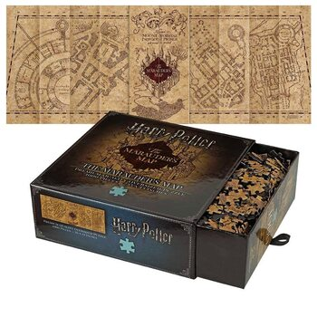 Puzzle Harry Potter -  The Marauder's Map Cover