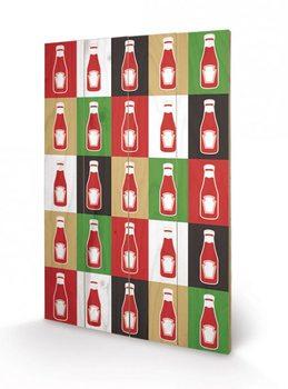 Heinz - TK Silhouette  Panneaux en Bois