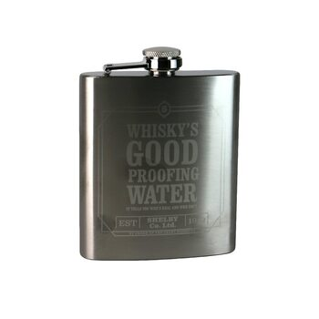 Bottle Hip Flask - Peaky Blinders - Whiskey's Good