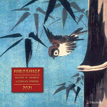 Calendar 2021 Hiroshige - Japanese Woodblock Printing