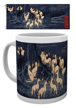 Mug Hiroshige - New Years Eve Foxfire