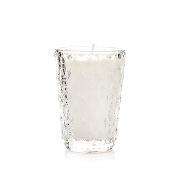 Candle in Glass - Vanilla, While 11 cm Home Decor