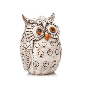 Candle Owl, 15 cm Home Decor