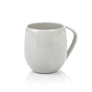 Mug Egg-Shaped Gray 300 ml Home Decor