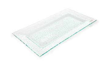 Plater Translucent 44x24cm Home Decor