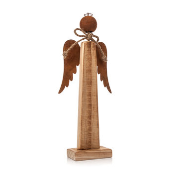 Wooden Angel Metal, 29 cm Home Decor