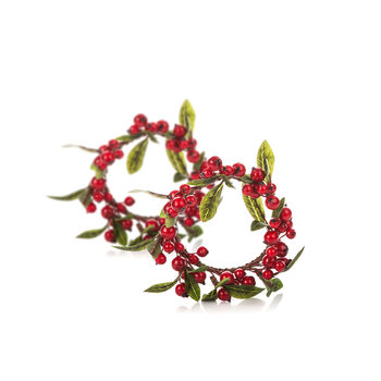Wreath Berries, 8 cm, set of 2 pcs Home Decor