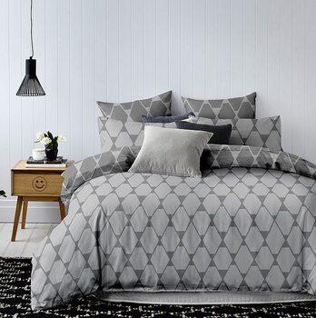 Bed sheets Hypnosis Dark Grey
