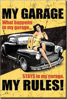 Íman MY GARAGE - my rules