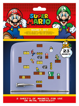 Íman Super Mario - Mushroom Kingdom