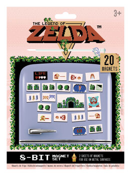 Íman The Legend of Zelda - Retro