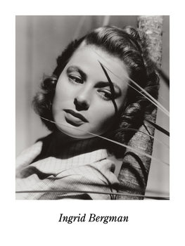 INGRID BERGMAN Reproduction