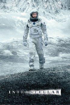 Framed Poster Interstellar - Ice Walk