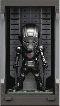 Figura Iron Man 3 - Iron Machine with Hall of Armor